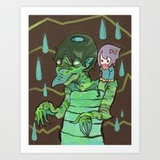 Kappaman and Kuri Art Print