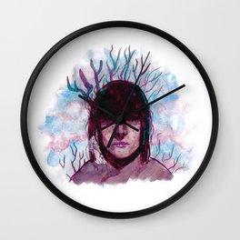 Mountain Woman Wall Clock