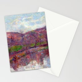 Paul Gauguin Brittany Landscape Stationery Cards