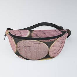 Red Wine Corks 5 Fanny Pack