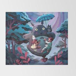 My Neighbour Totoroo Throw Blanket