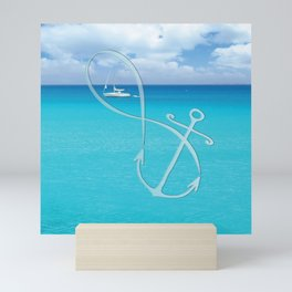 Infinity at Sea Mini Art Print