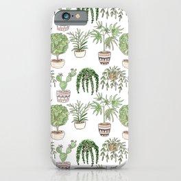 Watercolor . Plants . iPhone Case