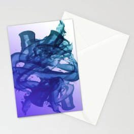 Blue Violet Bends Stationery Cards