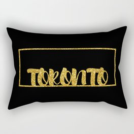 Gold Toronto Rectangular Pillow