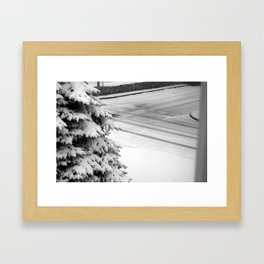 the road to clean living Framed Art Print