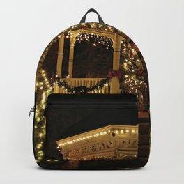 Gazebo Dressed for Christmas Backpack