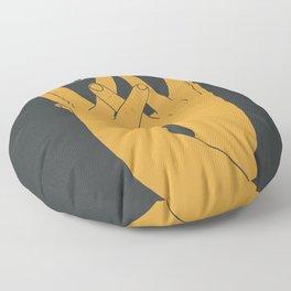 Hands mask Floor Pillow