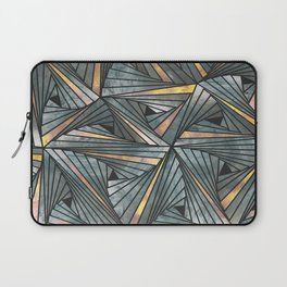 Mesh (Grey and Copper) Laptop Sleeve