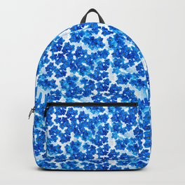 Forget-me-not Flowers White Background #decor #society6 #buyart Backpack