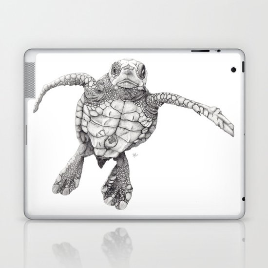 Chelonioidea (the turtle) Laptop & iPad Skin
