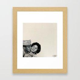 Dorothy & Harry Framed Art Print