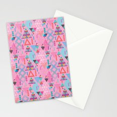 GeoTribal Pattern #008 Stationery Cards