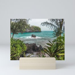 Hawaiian Turquoise Cove Mini Art Print
