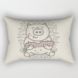 Bacon's Sandwich Rectangular Pillow