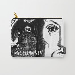 King Henry VIII Portrait Carry-All Pouch