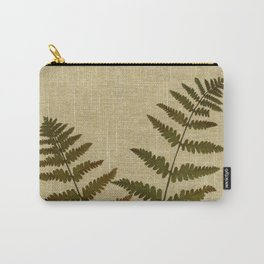 Ferns by Kathy Morton Stanion Carry-All Pouch