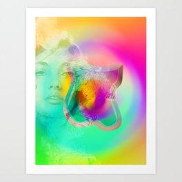 abstarct art Art Print