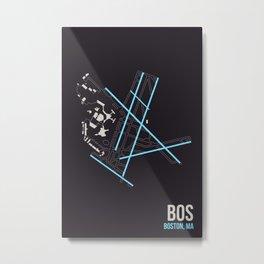 BOS Metal Print