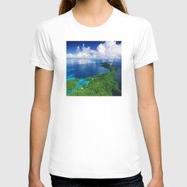 WOW!!! PALAU!! Tropical Island Hideaway T-shirt