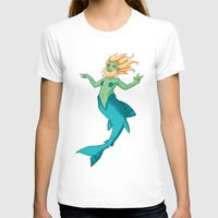siren T-shirts featuring Siren by  Arbitrary Stockings