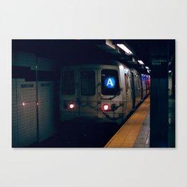NYC Subway 35mm film Canvas Print