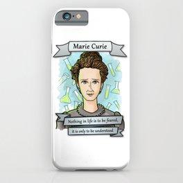 Marie Curie iPhone Case
