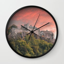Stirling Castle Wall Clock