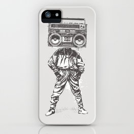 Old School Boy iPhone Case
