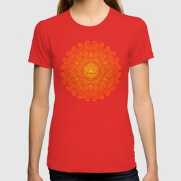 Natural 20 Mandala Barbarian Rage T-shirt