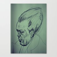 camus Canvas Prints featuring Camus Torpedo by Kratcheroo