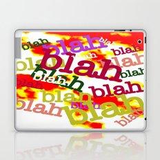 Blah Blah Bling! Laptop & iPad Skin