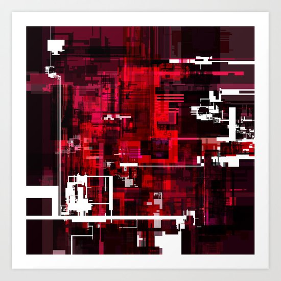 Grid Series Art Print