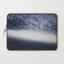 Drama above the Fjord Laptop Sleeve