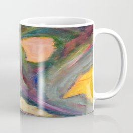 A Family of Masks. Coffee Mug