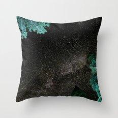 Lake Tahoe Milky Way Throw Pillow