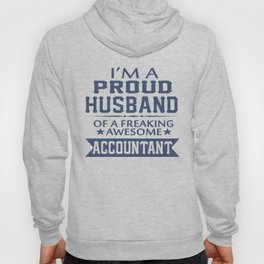 I'M A PROUD ACCOUNTANT'S HUSBAND Hoody