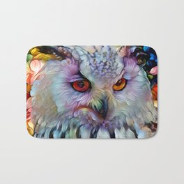 Ethereal Owl Bath Mat