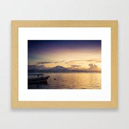 tropical dream Framed Art Print