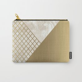 Gold & Marble 02 Carry-All Pouch