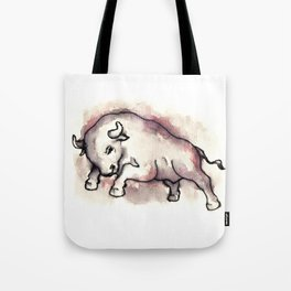 Bull Blood Tote Bag