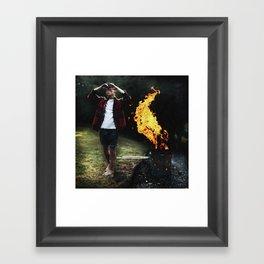 to the heart Framed Art Print