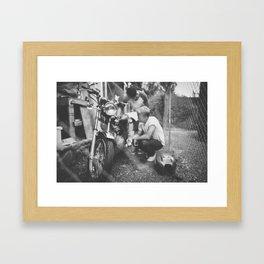 Mumbercycle Framed Art Print
