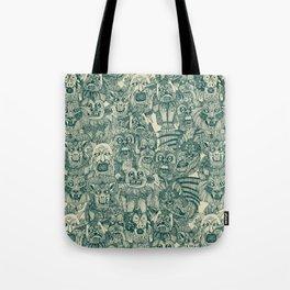 gargoyles teal Tote Bag