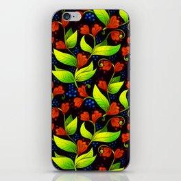 A Floral Waltz iPhone Skin