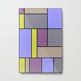 Mondrian #54 Metal Print
