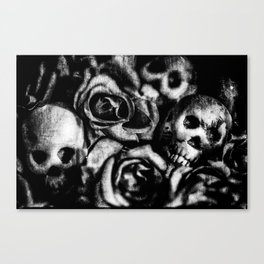 Lay Down Canvas Print