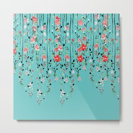 Floral Dilemma #society6 #decor #buyart Metal Print