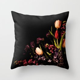 Spring Corner Throw Pillow