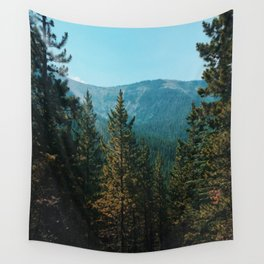let's mountain adventure/ jasper, canada Wall Tapestry